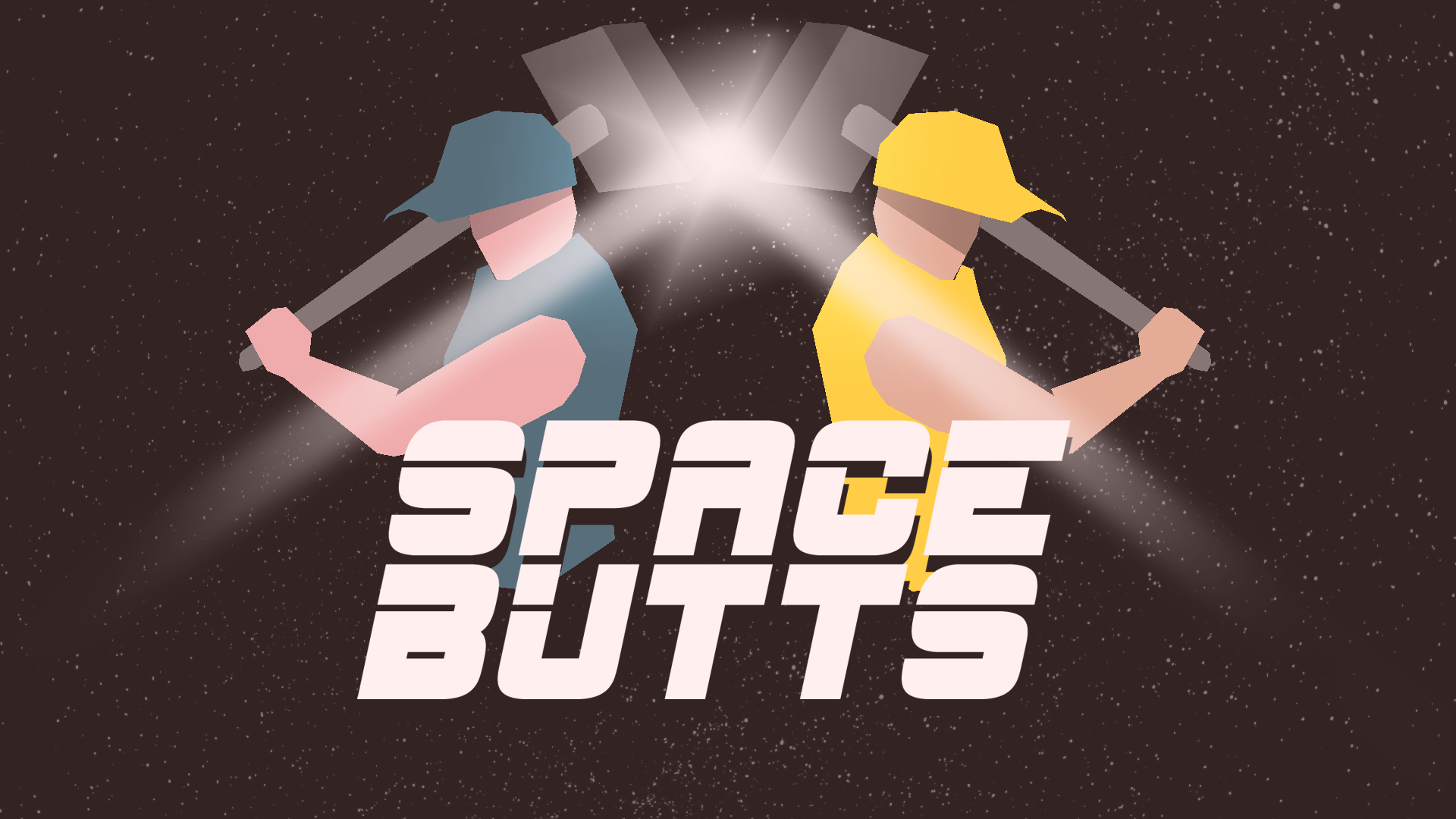 SPACE BUTTS – A two player cooperative spaceship maintenance game