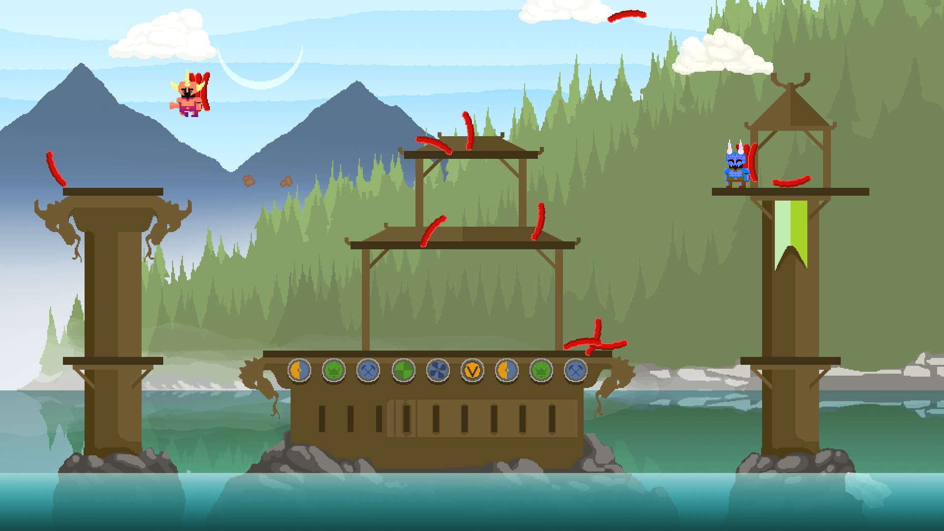 Pølsefest – Local multiplayer brawler with vikings and sausages