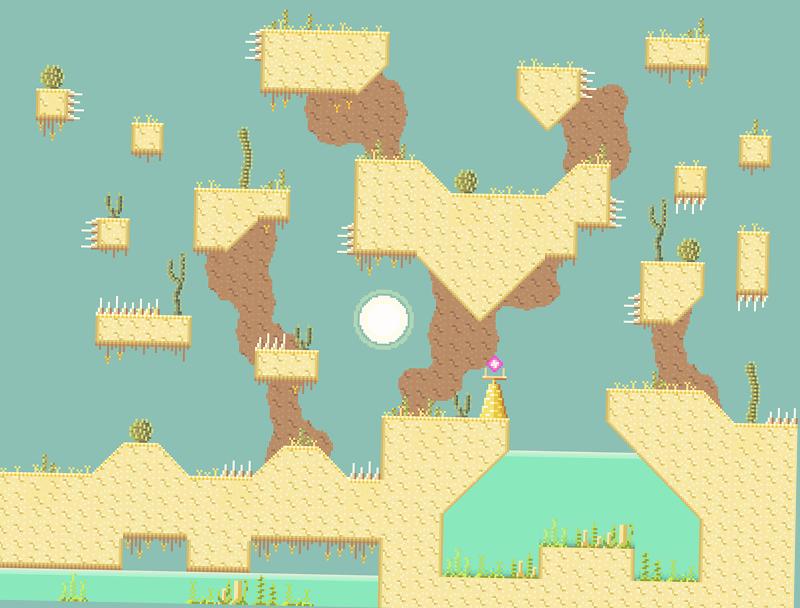Showcase Tilted Desert